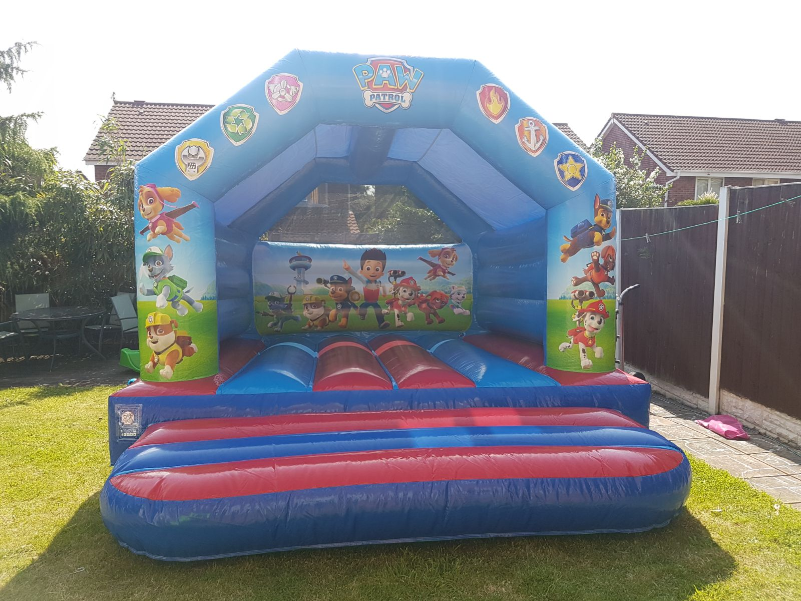 Paw Patrol Bounc Castle In Rainford St Helens