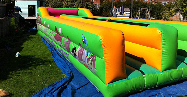 bungee run hire liverpool
