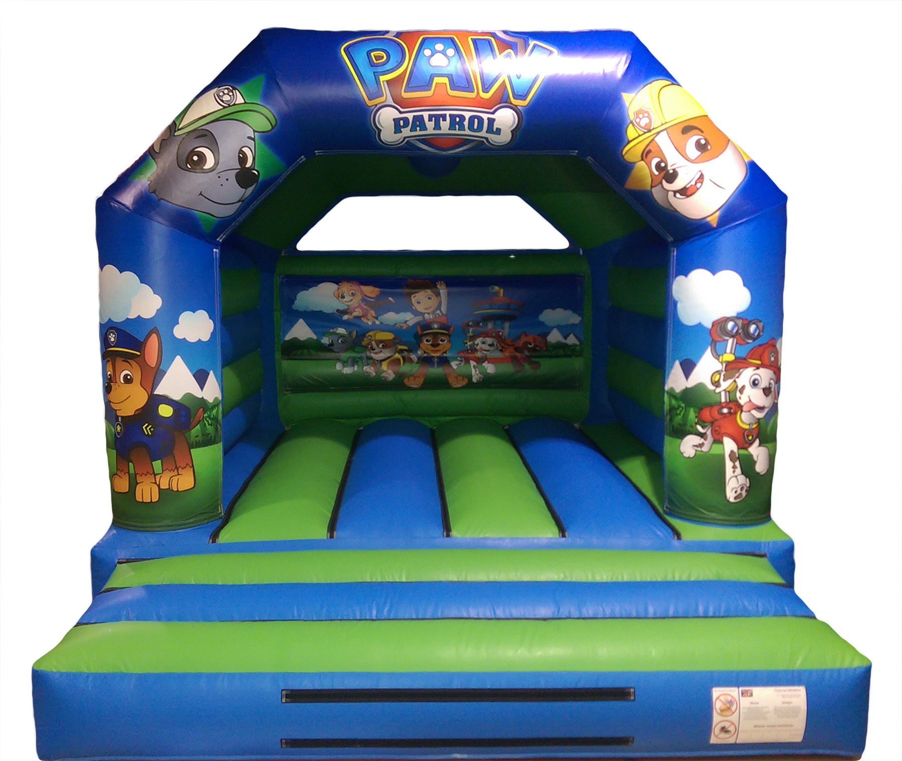Patrol bouncy castle Hire Liverpool